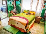 Children's room is very comfortable and colorful, safe and cozy. Your children will like playing