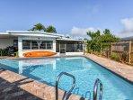 Beautiful 640 sq/ft heated pool!