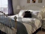 Romantic bedroom with Queen bed