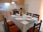 A2(5): kitchen and dining room