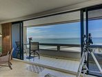 Expansive views of your private beach!