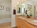 Master Bath with Dual Sinks