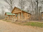If you require more sleeping arrangements, 3 additional cabins are available to rent!