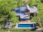 Check out this birds-eye-view of the property!