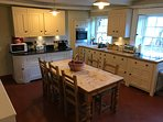 Fully equipped Chalon servants roomed kitchen