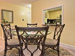 This condo is exceptionally clean and well equipped.