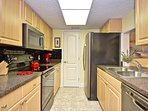 Great kitchen! All new appliances, even a Keurig!