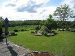 Gite garden and views