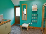 Sauna and Laundry room