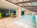 The Indoor Pool is a Must Have for Rainy Days!
