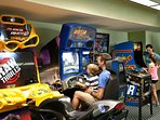 Don't Forget Quarters for the Arcade!