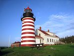 Visit West Quoddy Light and Lubec: the easternmost town in the U.S.