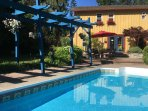 POOL AND ARBOR