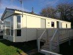 Caravan/Mobile Home / 2 bedrooms / 1 en-suite bathroom /sleeps 4