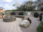 Fire Pit and 4 Gas Grills