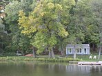 Lamoka Lake Getaway - Private 3/4 Acre Lot, Flat Lakefront with Dock