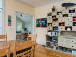 Access from the dining area to the living area - 29 Bellamy Lane North Chatham Cape Cod - New England Vacation Rentals