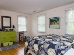Bedroom 4 with 1 Queen Bed - 29 Bellamy Lane North Chatham Cape Cod - New England Vacation Rentals