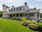 Lovely landscaping and front porch - 29 Bellamy Lane North Chatham Cape Cod - New England Vacation Rentals