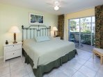 Master Bedroom with en suite bath and 32-inch flat screen TV and DVD.