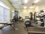 Complete fitness center will allow you to keep up your fitness routine duirng your stay at Westminster.