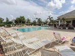 The large, heated pool, with expansive sundeck is a popular spot for swimmers and sunbathers to soak up the endless...