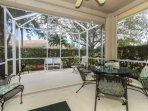 The extended lanai space allows plenty of room for outdoor living, and just outside you'll find a grill for all your...