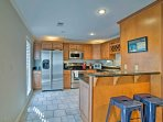 Whip up home-cooked meals in the fully equipped kitchen.