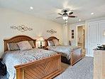 Bedroom 4 - Master with 2 Queen Beds