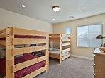 Bedroom 2- Bunk Room 2 Full/Full Bunk Beds