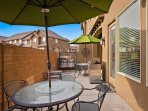Patio with BBQ/Seating for 10