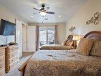 Bedroom 4 - Bedroom 4 - Master with 2 Queen Beds/TV