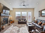 Living Room TV/Fireplace