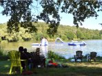 Local lake - Etang du Coucou has play area for kids