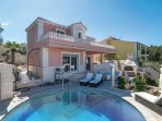 2 bedroom Villa in Supetar, Splitsko-Dalmatinska Županija, Croatia : ref 5547742