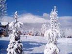 View of ski resort Jakubkova luka