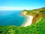 Woody Bay, 50 min coastal path walk, 2.9
