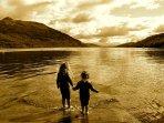 Paddling in Loch Lomond