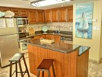 Your Kitchen With Granite and Stainless