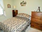 Full size mattress on main level