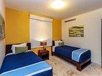Guest Suite with 2 Twin Beds and En Suite Bathroom