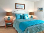 Master Bedroom, Bright and Beachy with Queen Bed