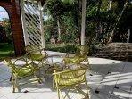La varangue (terrasse couverte)