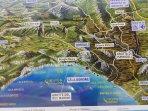 cartina turistica della zona