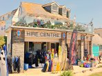 TJ's Surf Hire & Restaurant Polzeath Beach