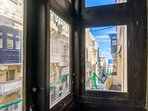 View form Maltese balcony