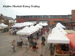 Neston market every Friday