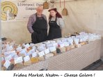 Neston Friday Market - Specialist Cheeses