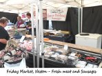 Neston Friday Market - Meat and sausages
