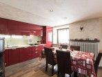 Kitchen and Dinner area Luxury Villa